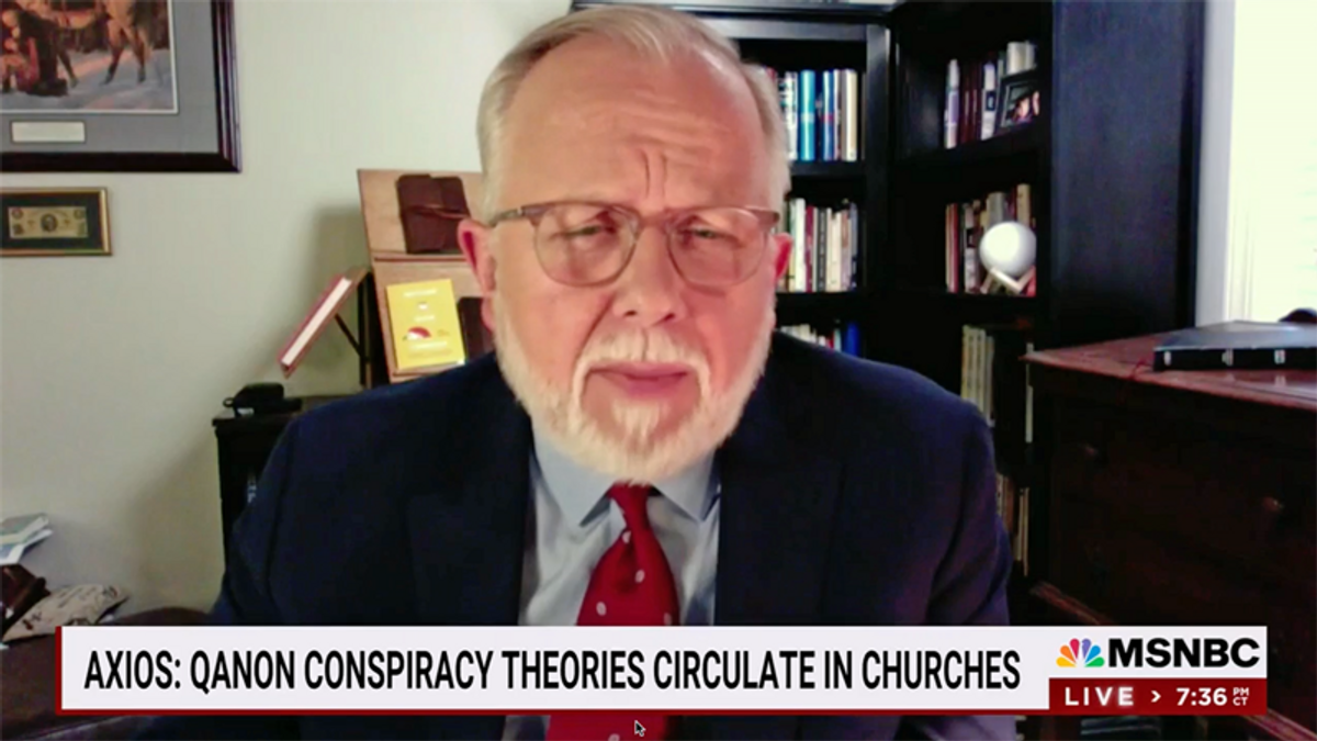 Southern Baptist leader calls out QAnon: 'Armed insurrection does not fit with God's word'