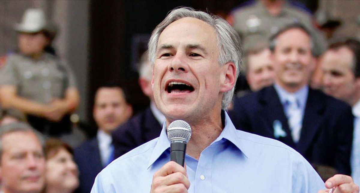 'Half-baked': Greg Abbott scorched by major Texas paper for 'ludicrous' plan to finish Trump's border wall