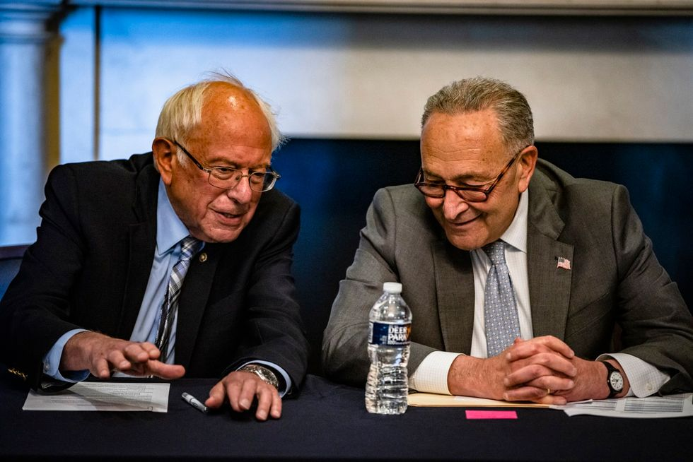 Schumer and Sanders push to add dental, hearing and vision coverage to Medicare