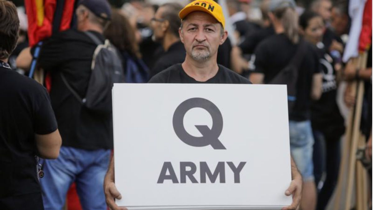 Claims that 'QAnon is dead' are premature -- the conspiracy cult is evolving into something even worse: report