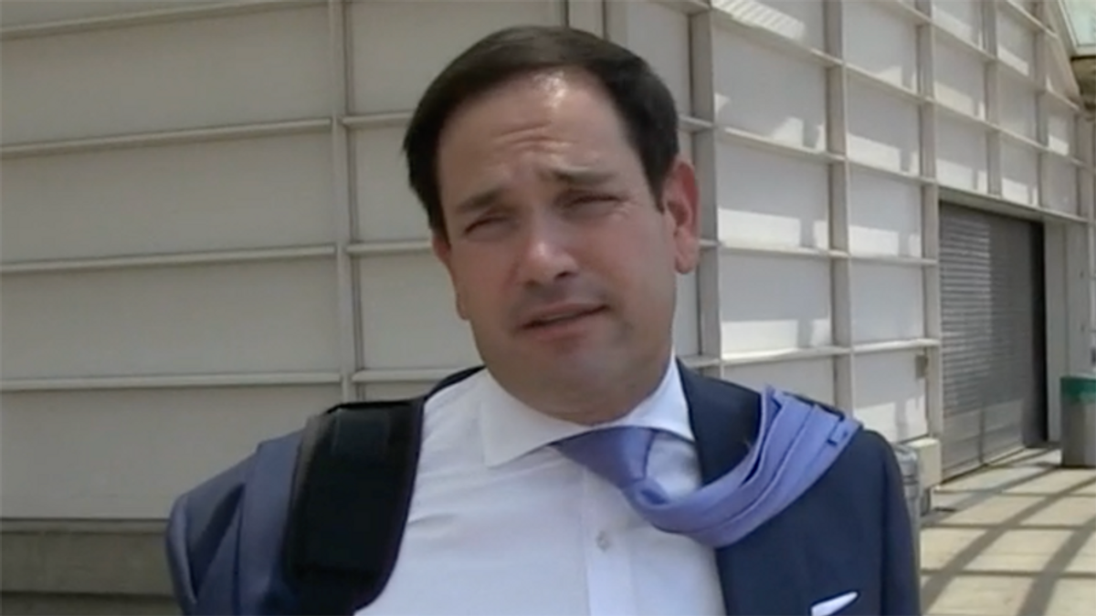 Redactions of 'spicy' UFO details will become public: Marco Rubio says 'ain't no way that doesn't leak'