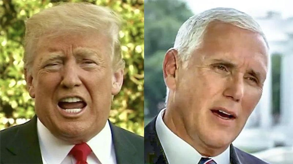 Trump's 'months-long tantrum' about Mike Pence is crippling the former veep's political future: MSNBC analyst