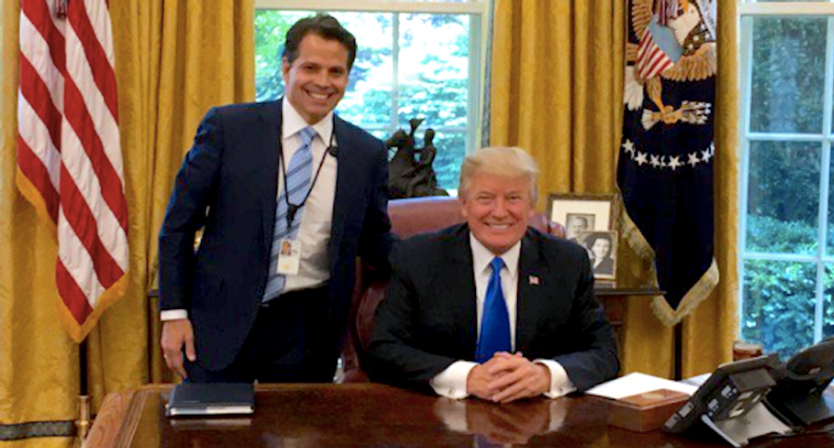Scaramucci to testify in trial of banker accused of trying to buy a job in the Trump administration