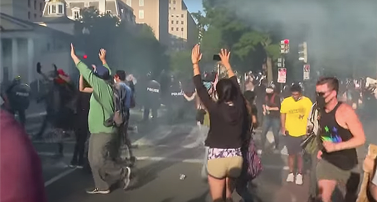 Ruling by Trump-appointed judge gives feds the 'green light' to attack protesters: ACLU