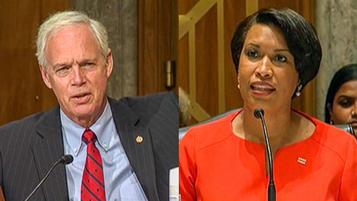 WATCH: DC mayor smacks down 'incorrect' Ron Johnson after he says residents don't deserve statehood