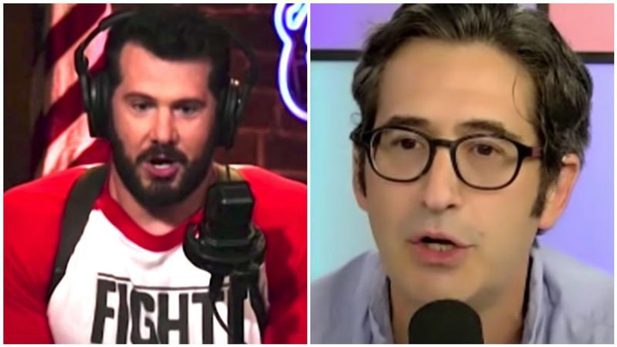 Conservative YouTuber Steven Crowder mocked for bailing from debate after liberal Sam Seder showed up