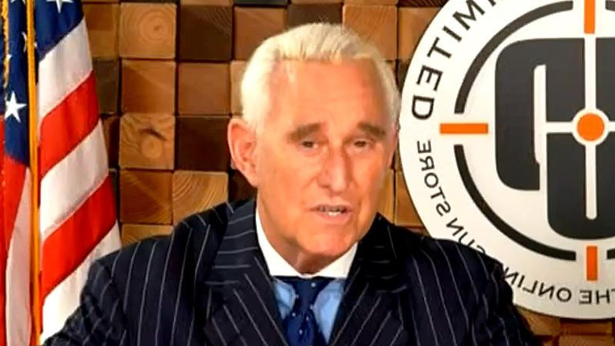 Trump ally Roger Stone claims Secret Service tried to escort him to the Capitol on January 6