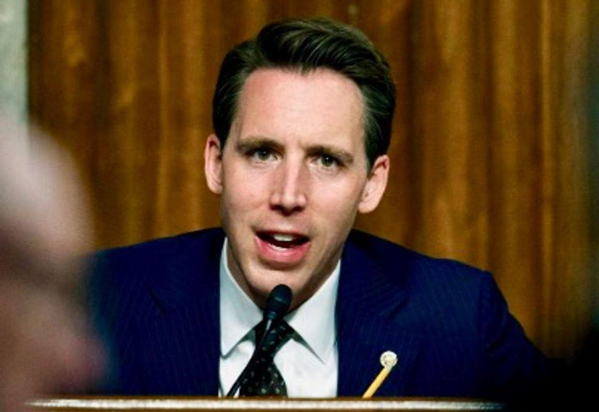 Republican Josh Hawley invoked MLK to grandstand against 'critical race theory.' It did not go well