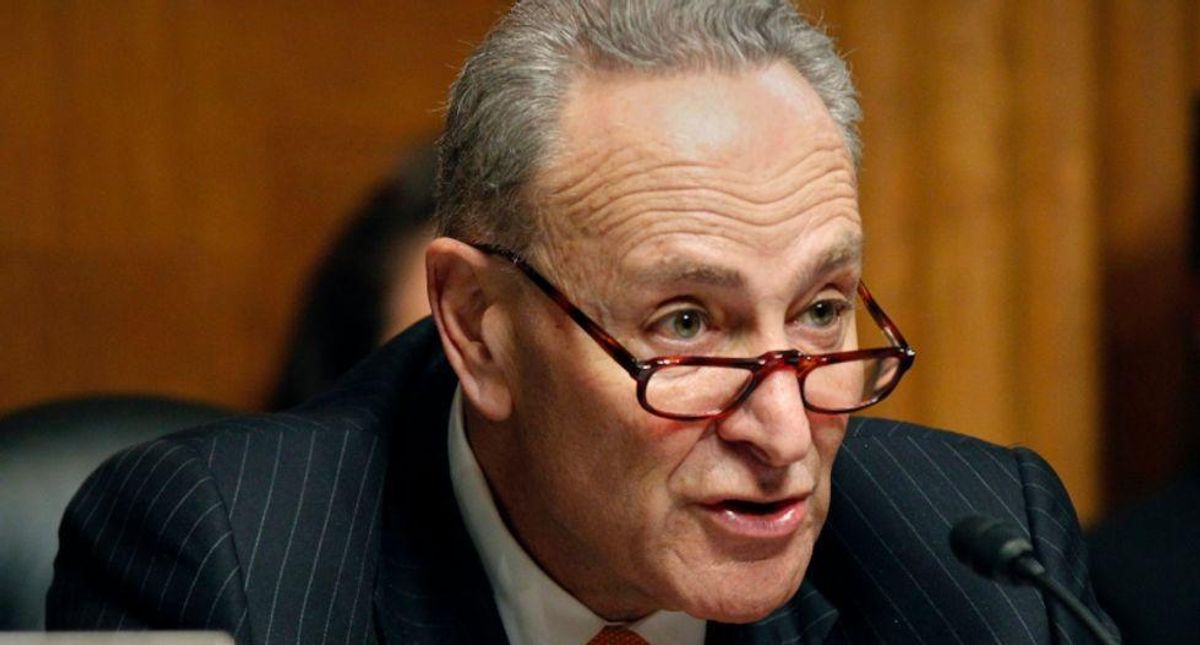 WATCH: Chuck Schumer compares Mitch McConnell to southern segregationists for blocking voting rights