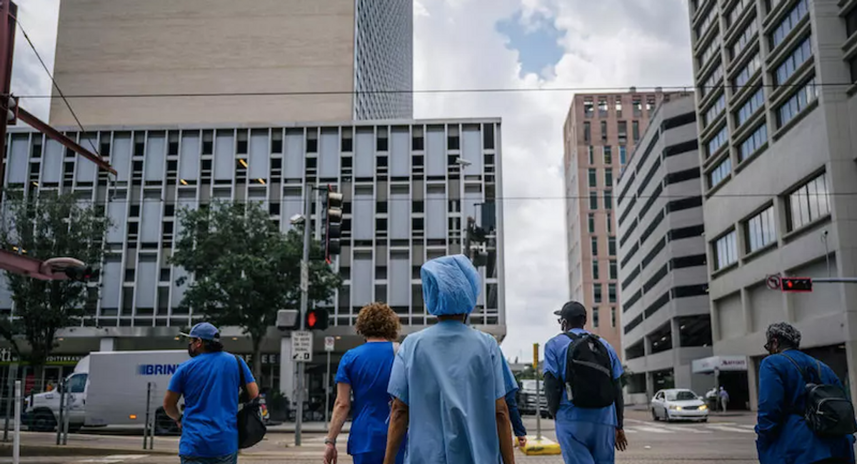 More than 150 Texas hospital staff fired or quit over vaccine ruling