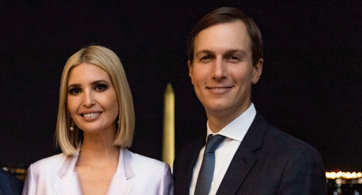 Jared and Ivanka distancing themselves from Trump as he keeps throwing fits about the election: report