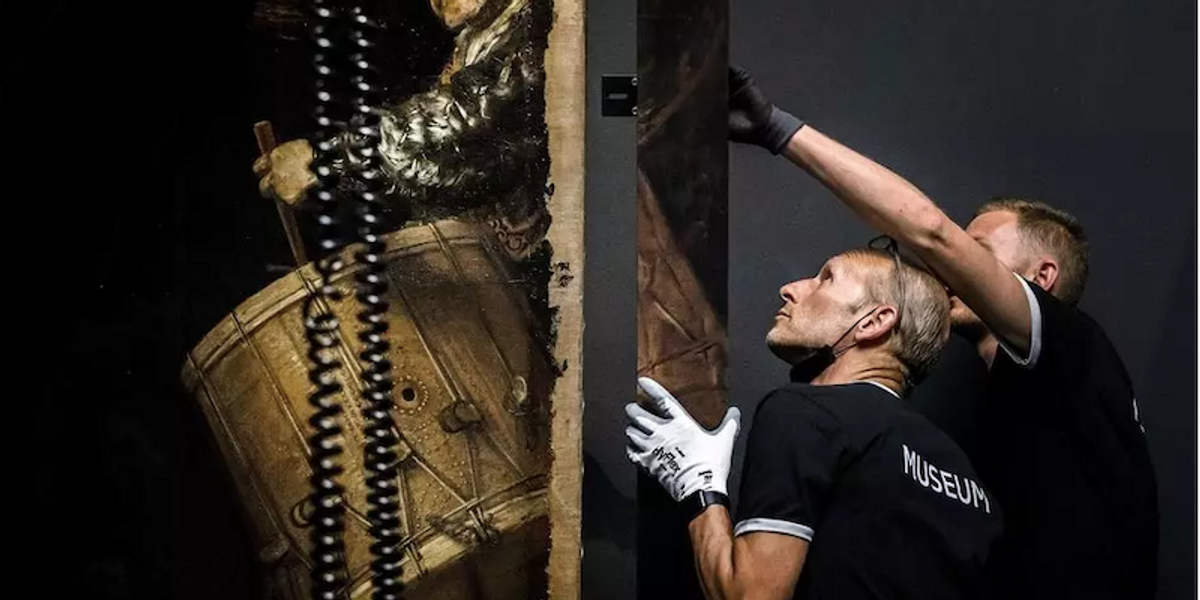 Lost parts of Rembrandt masterpiece restored by AI