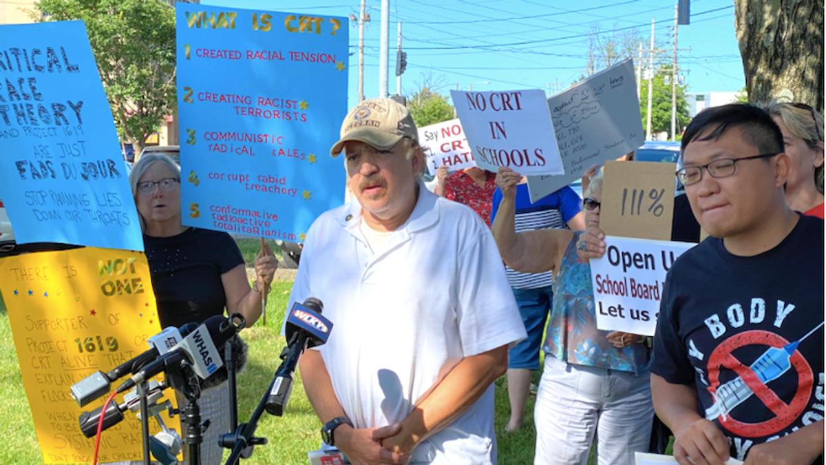 'Kids aren't born racist!' Militia-backing protesters derail Kentucky school board meeting