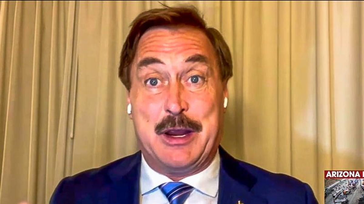 Mike Lindell unloads on critics: 'We're going to have a new inauguration and it's going to be beautiful'