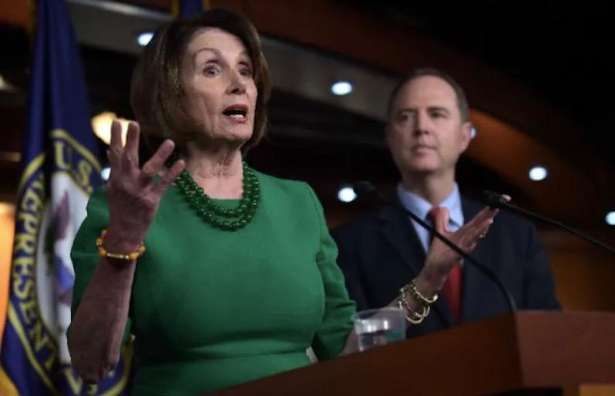 Pelosi demands two ex-Trump officials testify on 'rogue' surveillance