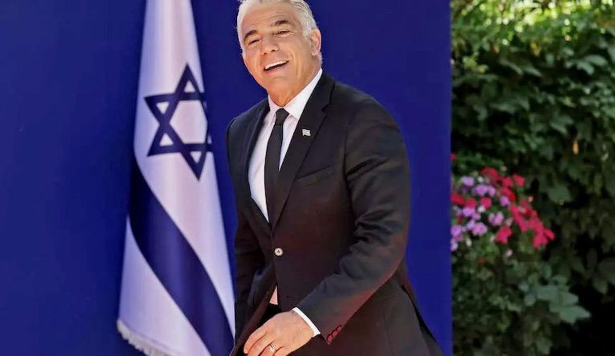Israel's Lapid vows to end 'hostile' relations abroad