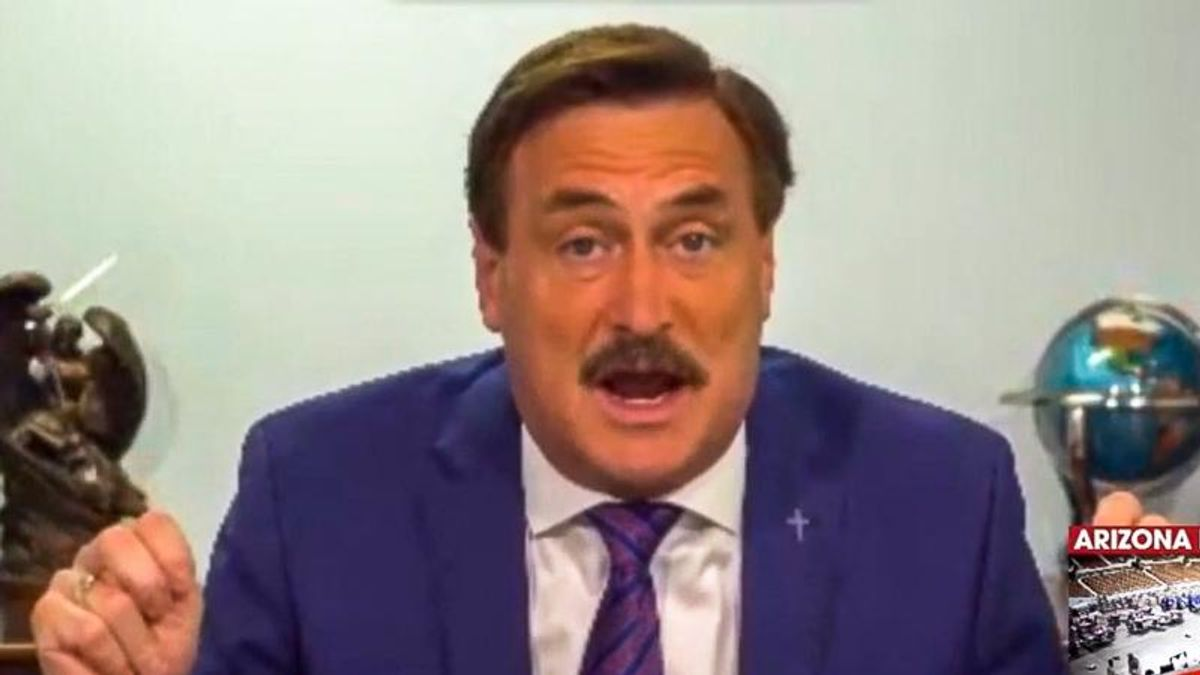 Mike Lindell invites Chinese Communist Party to 'cyber symposium' for 'gladiator fight' on election