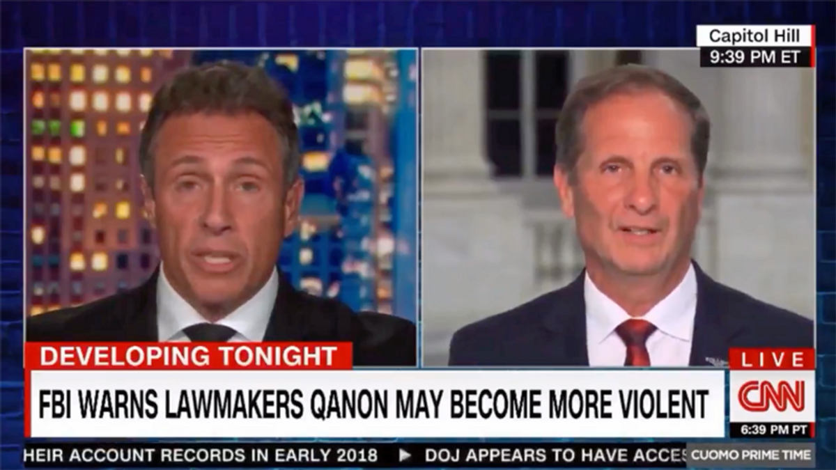 Utah Republican cornered on CNN over his lack of support for law enforcement
