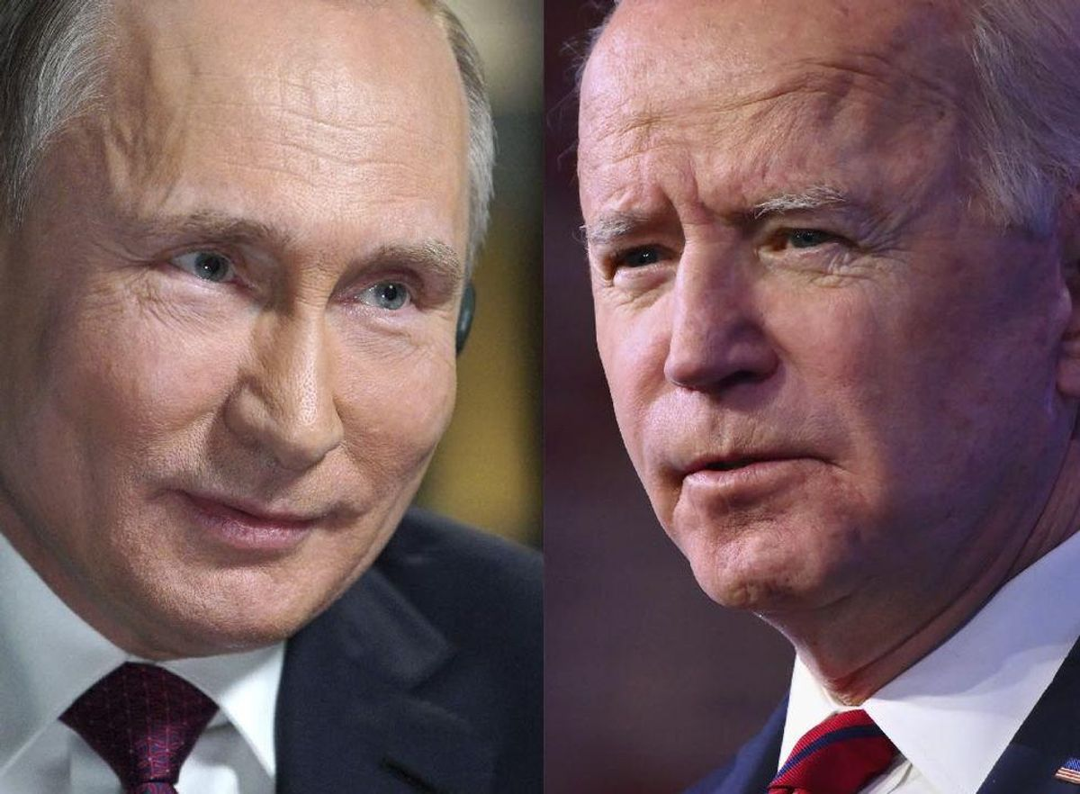Biden promises to lay down 'red lines' to Putin