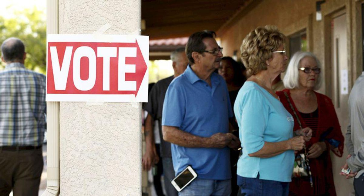 Arizona residents accosted by people impersonating election officials -- and asked how they voted in 2020
