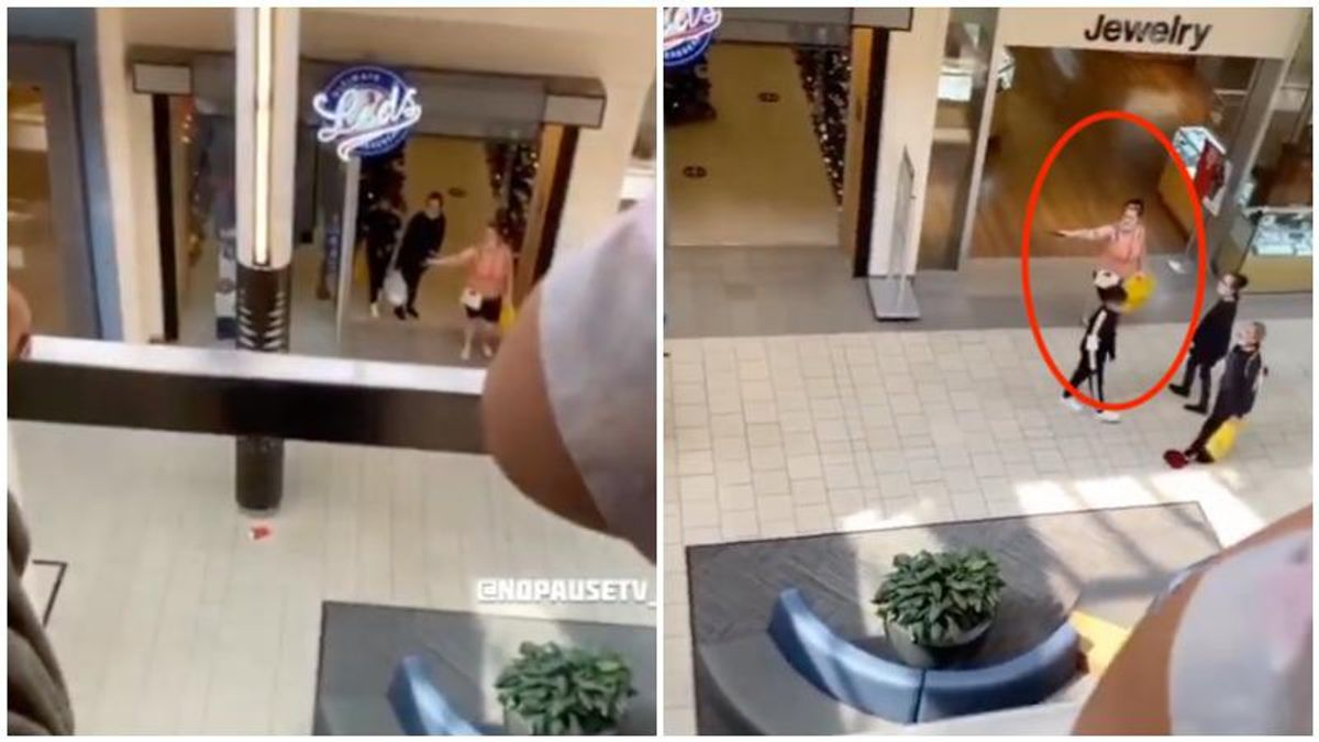 WATCH: Woman pulls gun on Black family during mall confrontation in Washington state