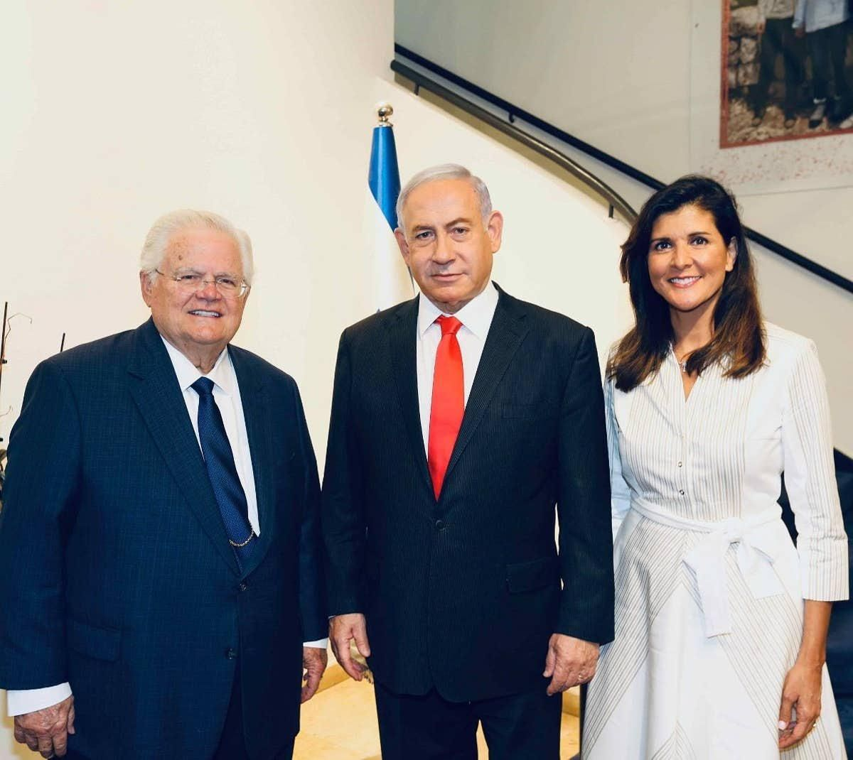 Nikki Haley disses new Israeli government with photo op praising disgraced Netanyahu