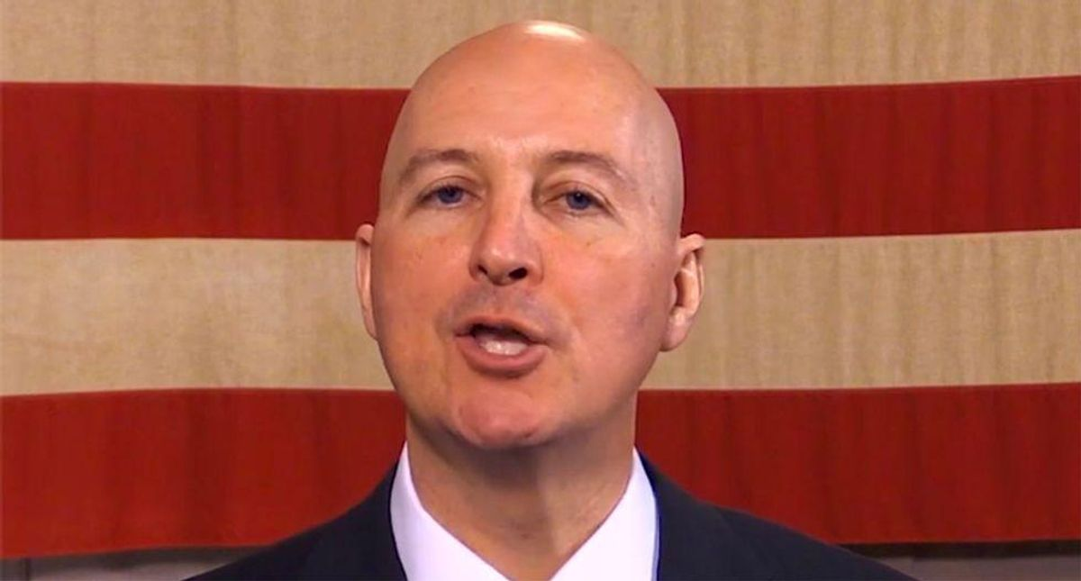 Nebraska's GOP governor goes down in flames trying to explain critical race theory