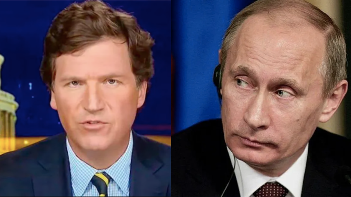 Propaganda expert explains how Tucker Carlson has become the anti-American parrot of Russian talking points