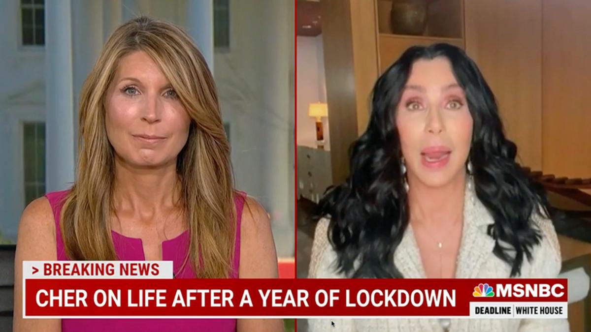 WATCH: Cher describes how Trump literally made her ill — but she's sleeping better under Biden