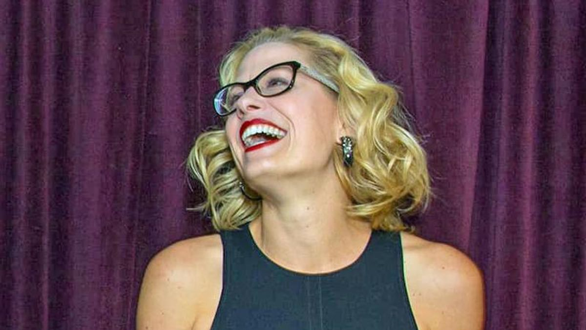 Sinema is 'refusing to do what's needed to save her own seat' by choosing filibuster over democracy