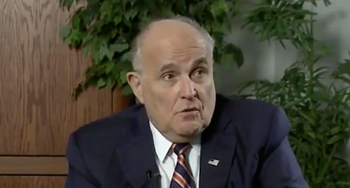 Rudy Giuliani proclaims he'll be vindicated after court investigation