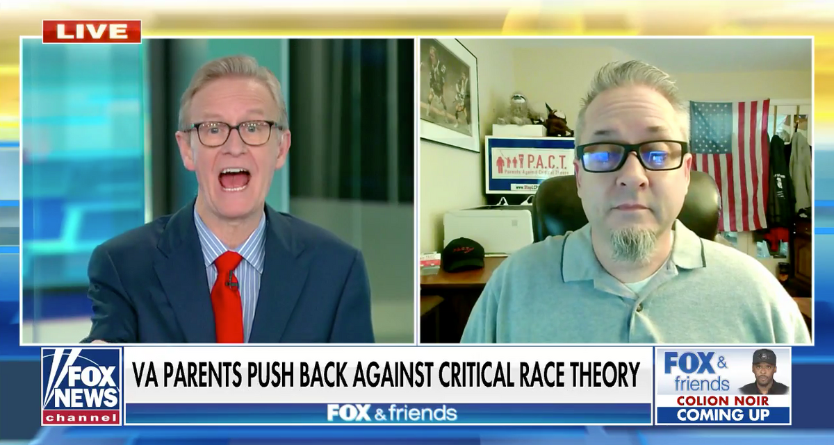Anti-CRT group spotlighted by Fox News circulates article from white nationalist website