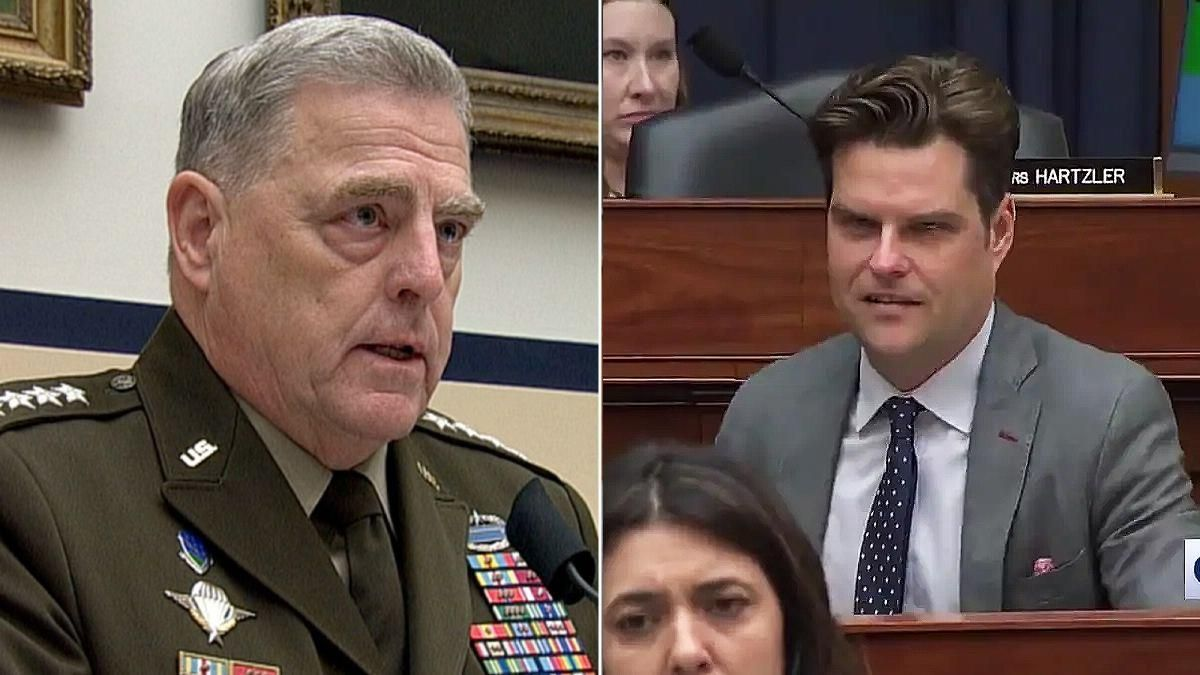 Matt Gaetz's attack on Joint Chiefs is part of the GOP's long-running attack against the military: report