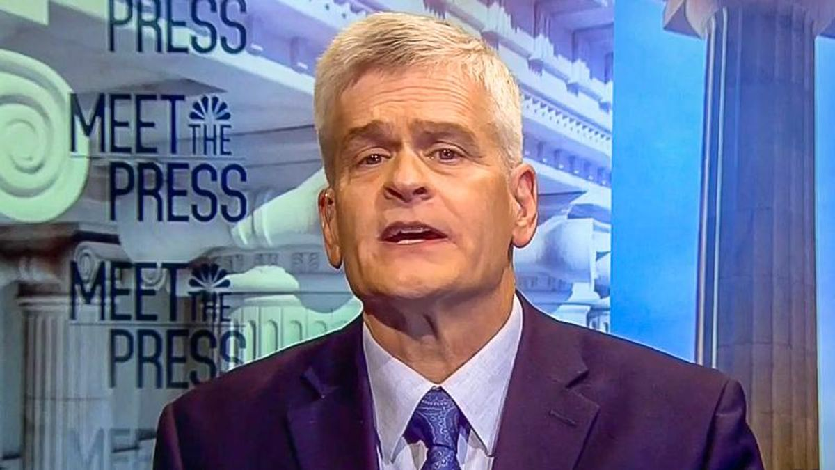 Sen. Bill Cassidy: 'Roads and bridges are a woman's problem' because they are 'doing the shopping'
