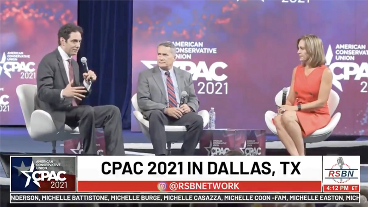CPAC conference shows why America is failing at vaccinating Republicans