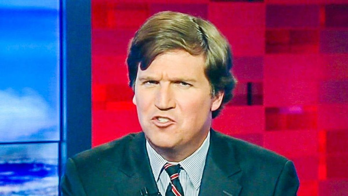 'Tensions are sky high' and Tucker Carlson is 'furious' because his Fox bosses won't publicly support him: report