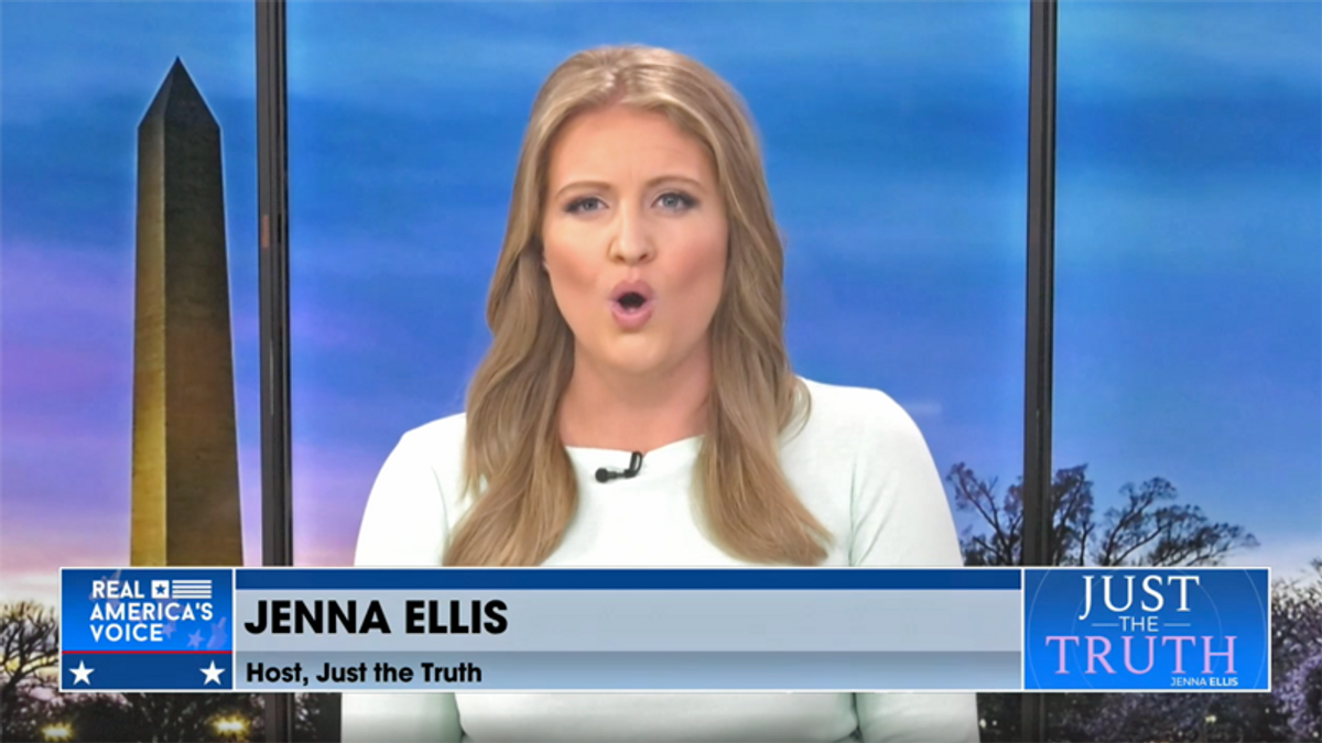 WATCH: Ex-Trump lawyer Jenna Ellis quits GOP live on air -- and slams McConnell on her way out