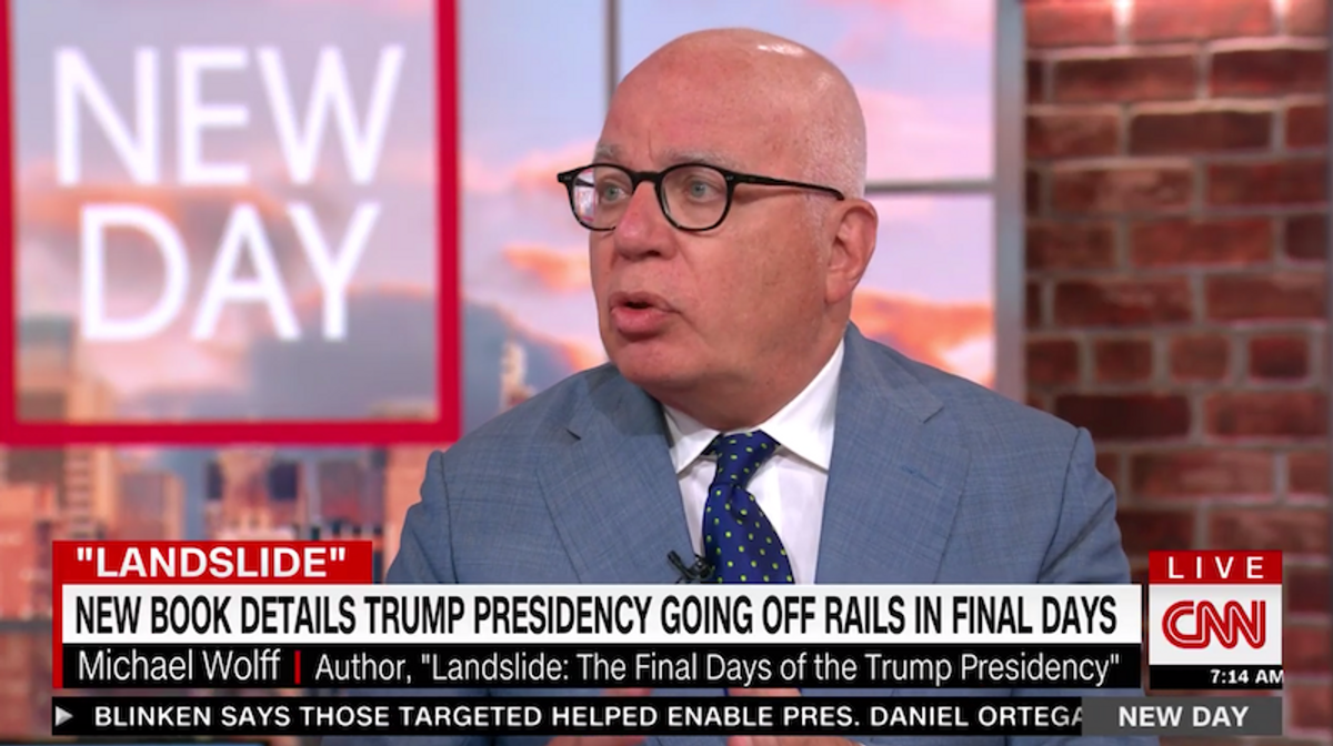Trump is living 'in the land of absurdity' and Giuliani is always drunk: Michael Wolff