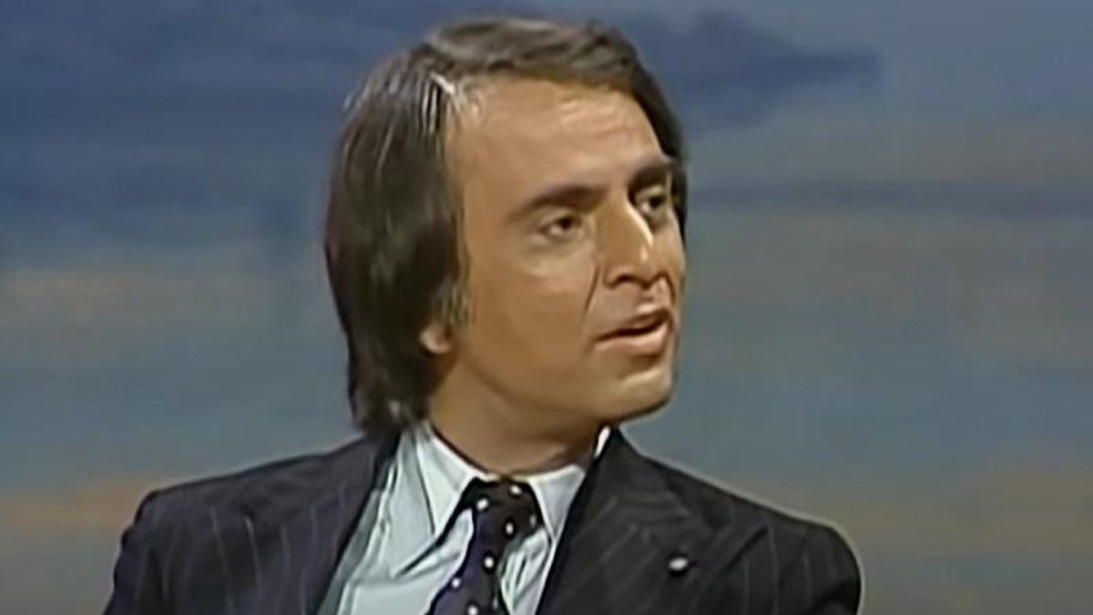 'Ahead of his time': How astrophysicist Carl Sagan predicted 2021's problems -- 25 years ago