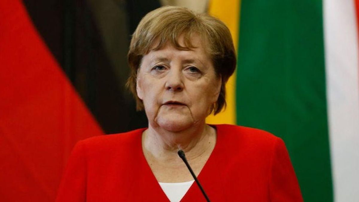 'Stop blocking global COVID vaccines': Protests greet Angela Merkel's White House visit