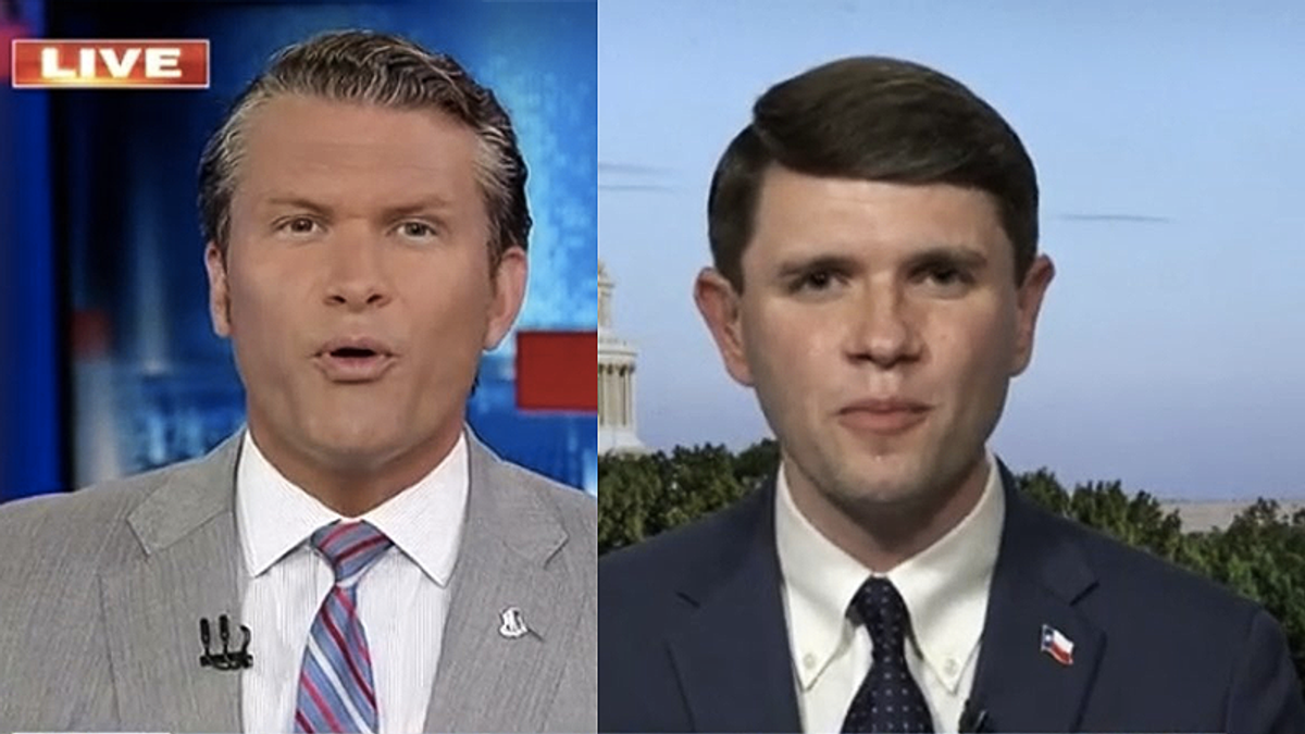 'Tell your viewers Trump lost!' Texas Dem steamrolls Fox News host for spreading election lies