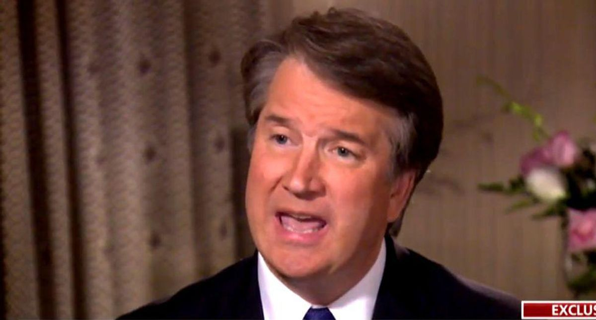 Trump is raging at 'totally disgraced' Brett Kavanaugh -- but his anger is bizarrely misplaced