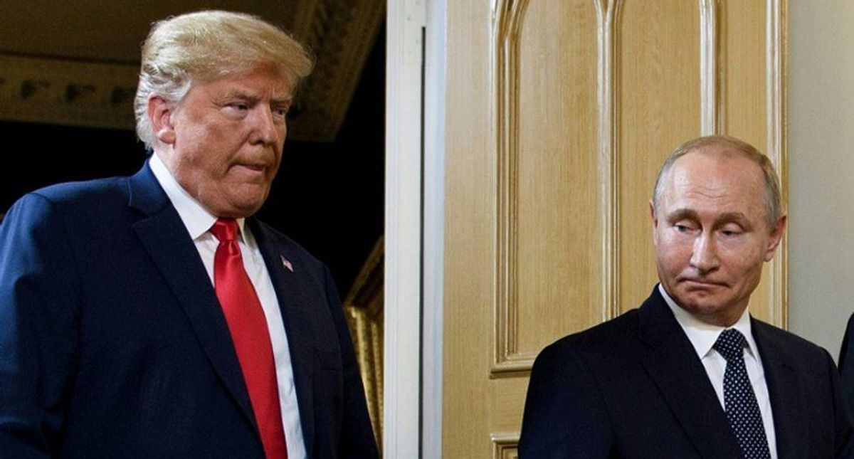 Leaked Kremlin documents suggest Putin holds blackmail leverage over Trump -- and that's why Russia backed him
