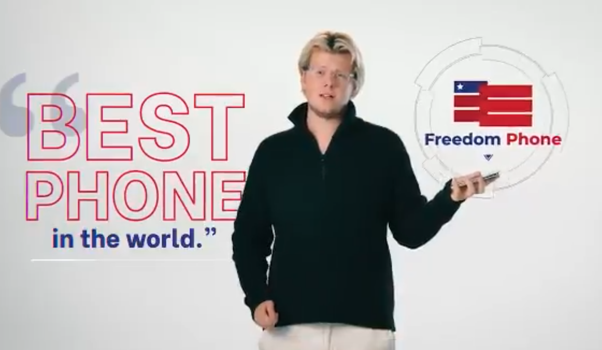 A 'Bitcoin millionaire' is selling $500 'Freedom Phones' to MAGA fans -- and it looks like a massive grift: report