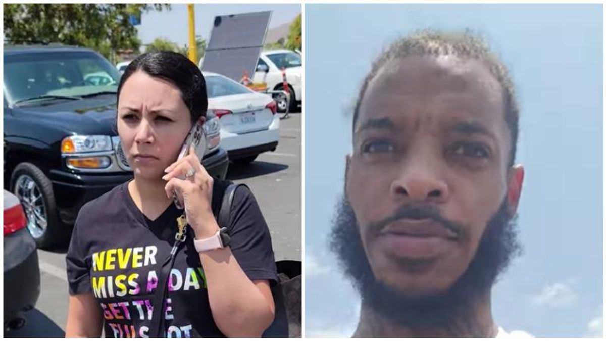 Woman accuses Black man of stealing her son's phone -- and curses him out when she learns her son had it the whole time