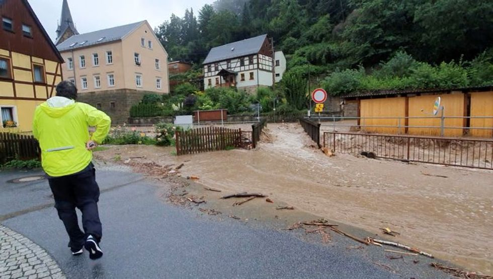 Bavaria hit by floods as German death toll climbs to 156