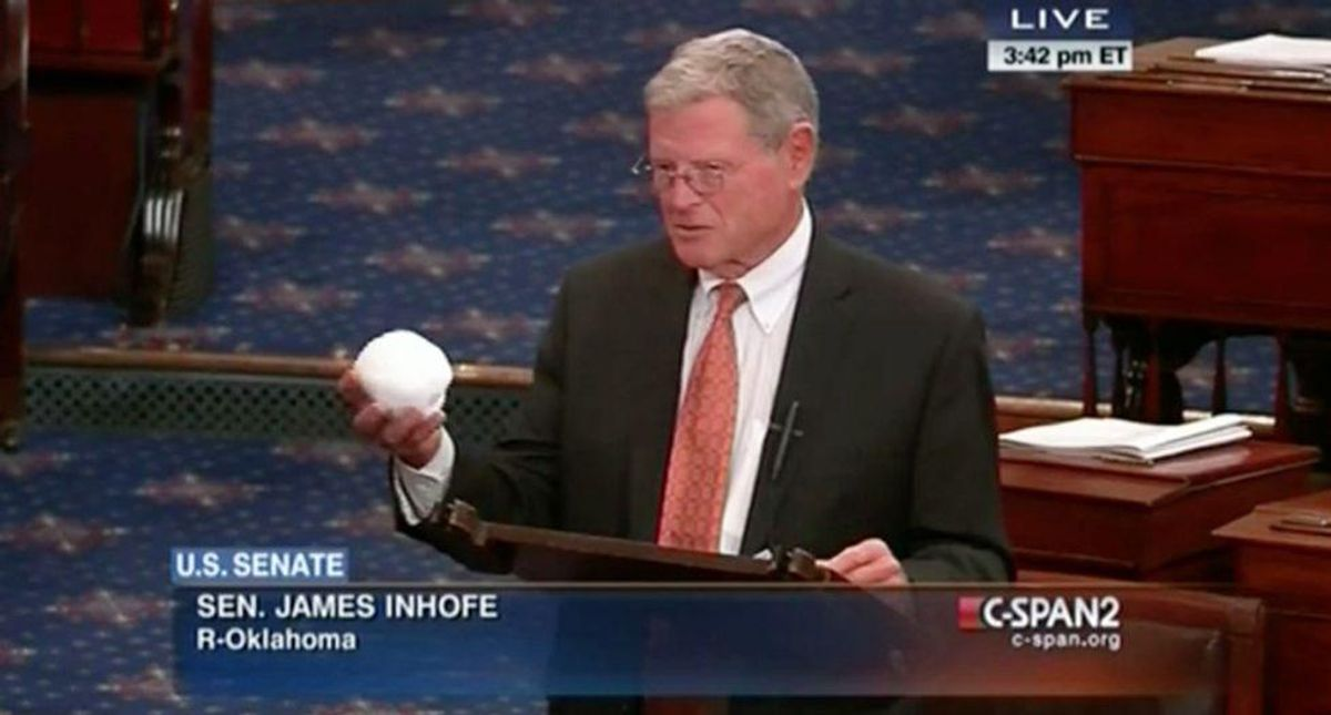 Jim Inhofe brags about cash Biden gave him for highways — but still hates bill that would give Oklahoma billions