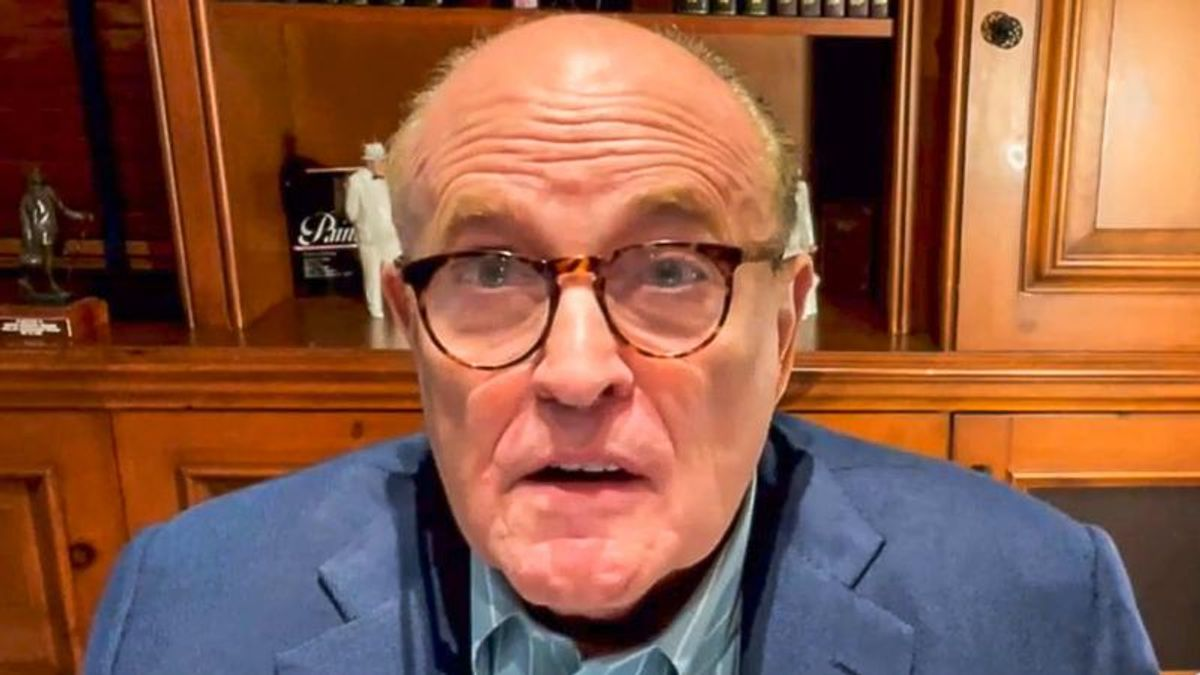 'They made up ballots': Rudy Giuliani rages at Fox News for participating in election 'conspiracy'
