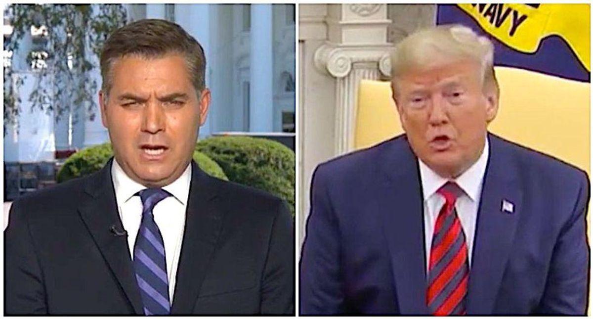 CNN's Jim Acosta recalls Trump's 2016 brag that destroys his rally claim about taxes