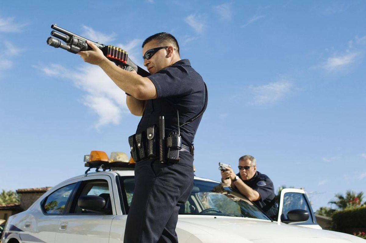 North Carolina cop swears his gun just went off on suspect